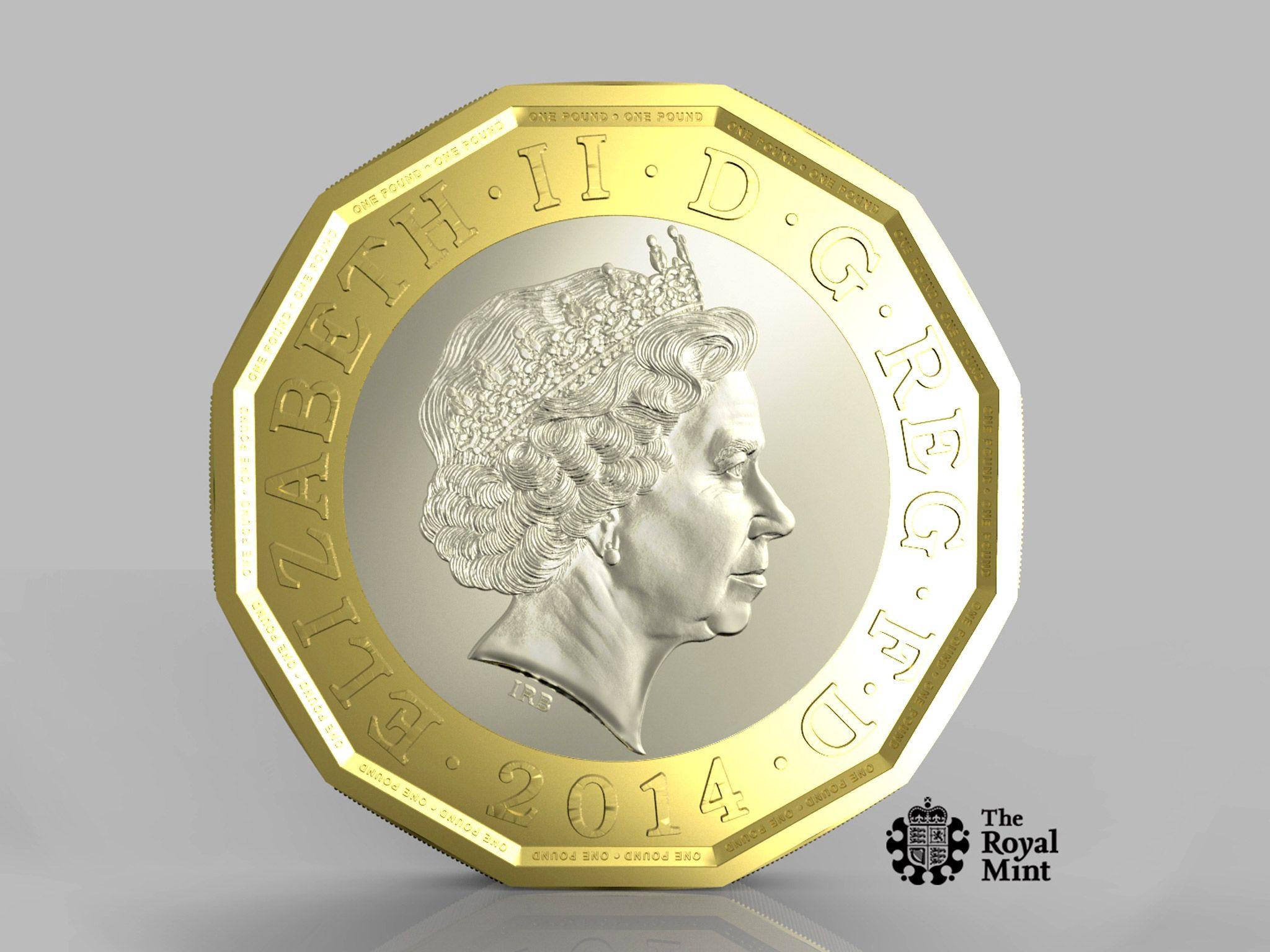 Британия выпускает самую защищенную монету в мире
